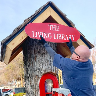 Phone Booth Libraries